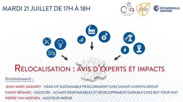 Webinar | Relocalisation : avis d'experts et impacts !