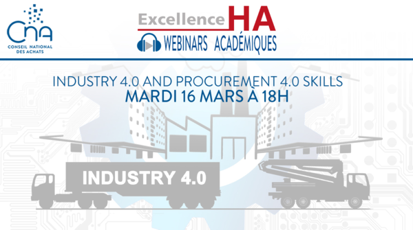 Webinar académique | Are you ready for industry 4.0 and procurement 4.0 ?